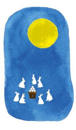 月とうさぎ1