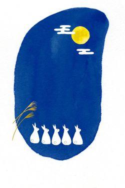 月とうさぎ3