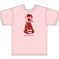 ミルクTシャツ-ピンク